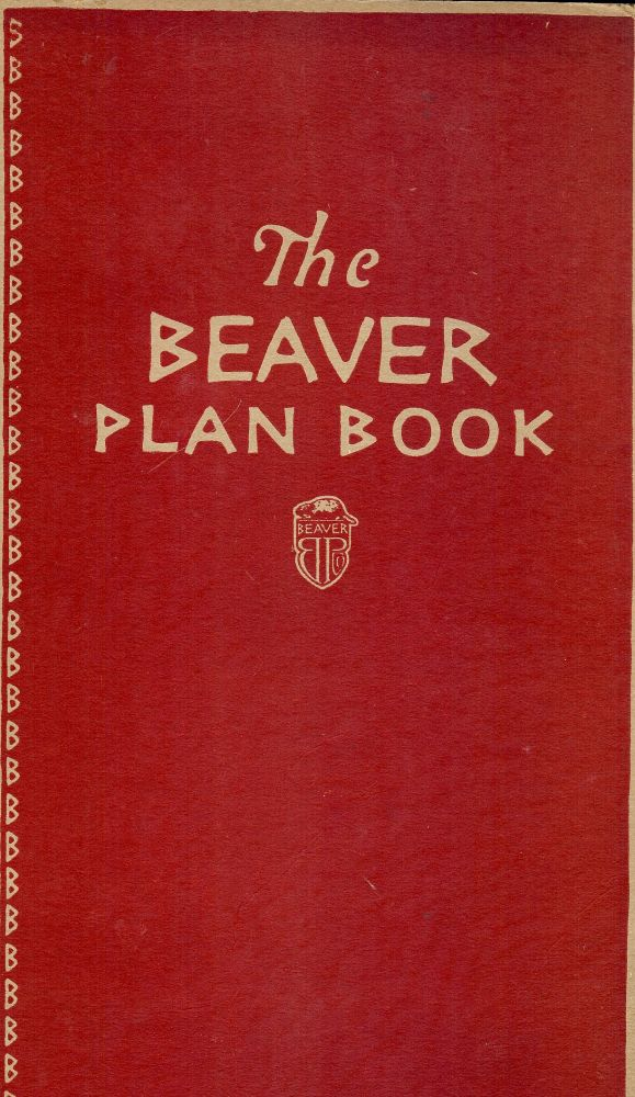 THE BEAVER WALL BOARD PLAN BOOK. Beaver Products.