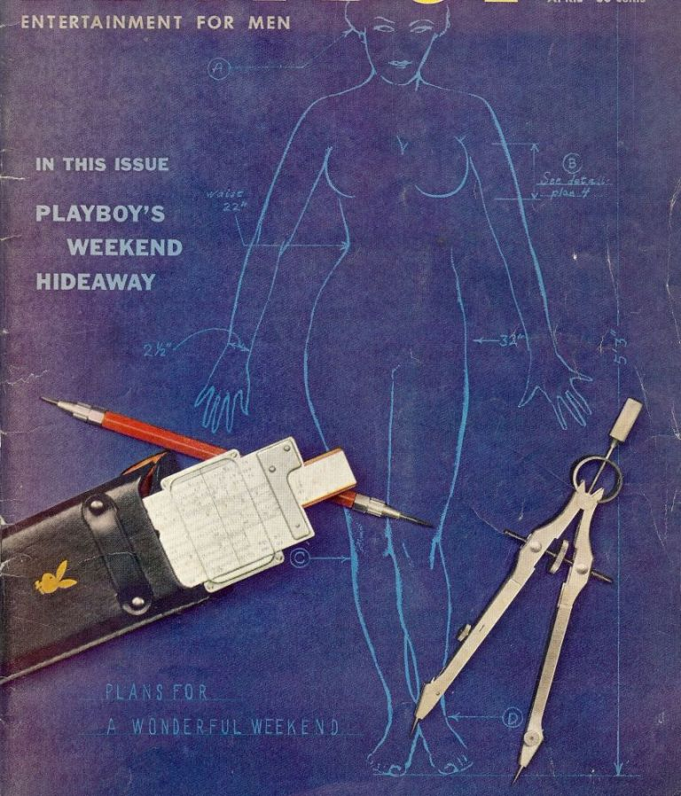 Nasty, In Playboy, April 1959. Fredric BROWN.
