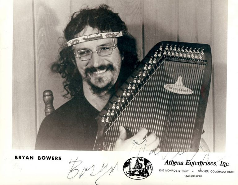 Signed Photograph. Bryan BOWERS.