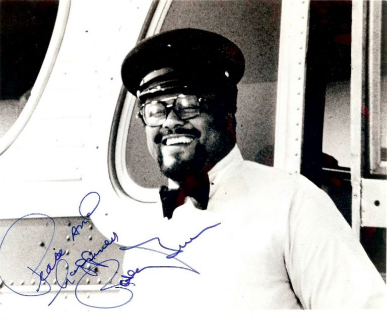 Signed Photograph. Rosey GRIER.