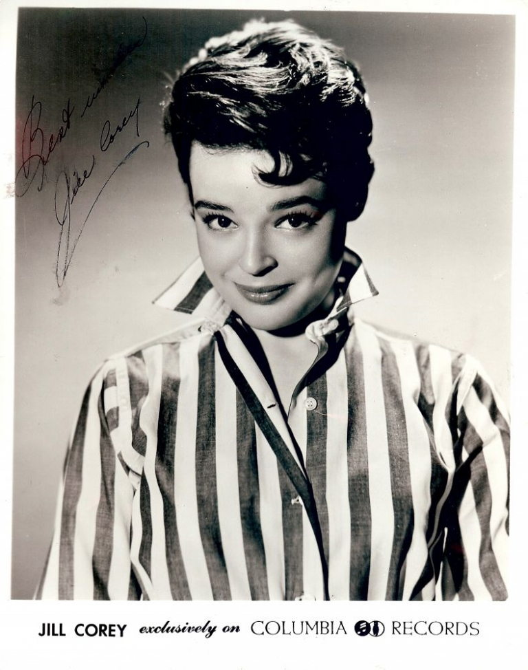 Signed Photograph. Jill COREY.