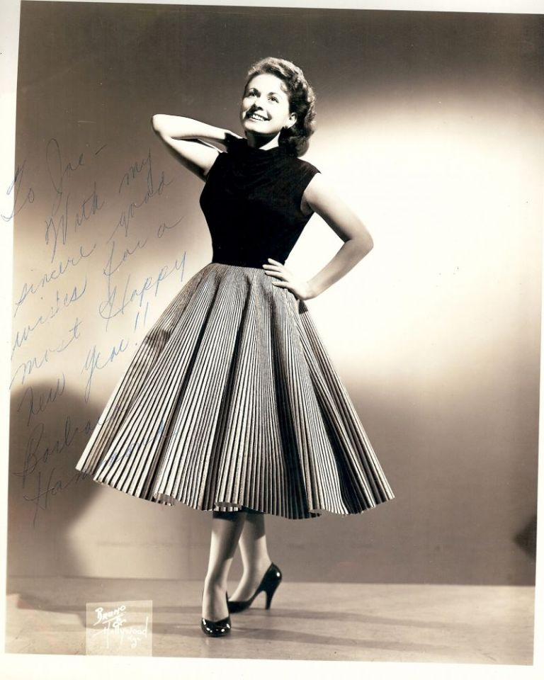Signed Photograph. Barbara HAMMOND.
