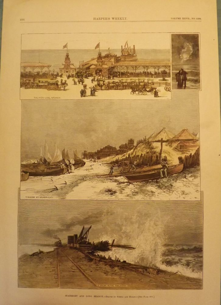 SEA BRIGHT AND LONG BRANCH. HARPER'S WEEKLY.