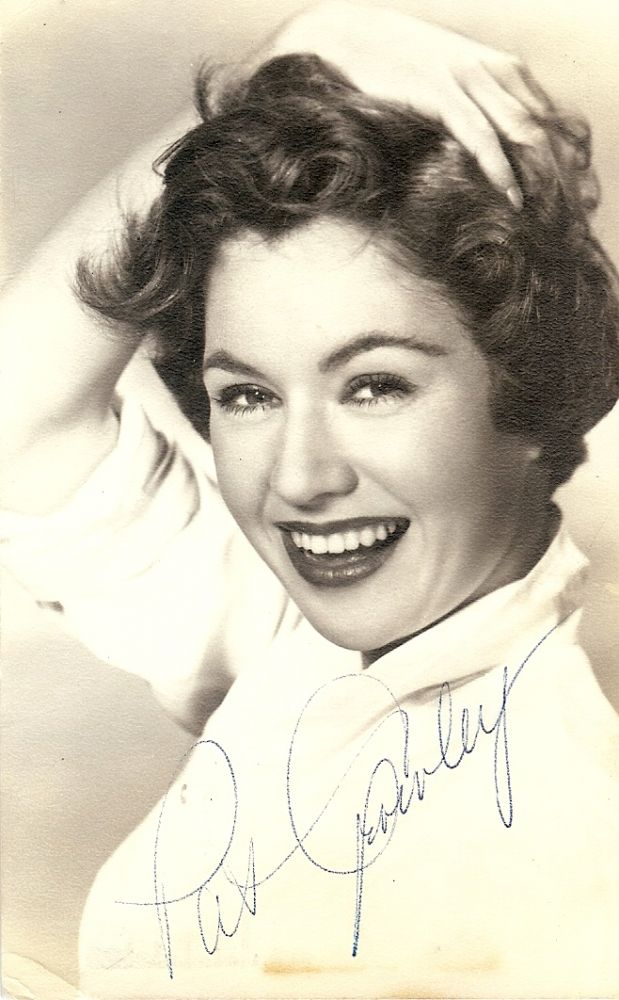 Signed Photograph. Patricia CROWLEY.