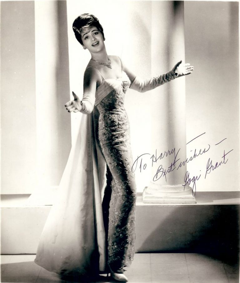 Signed Photograph. Gogi GRANT.