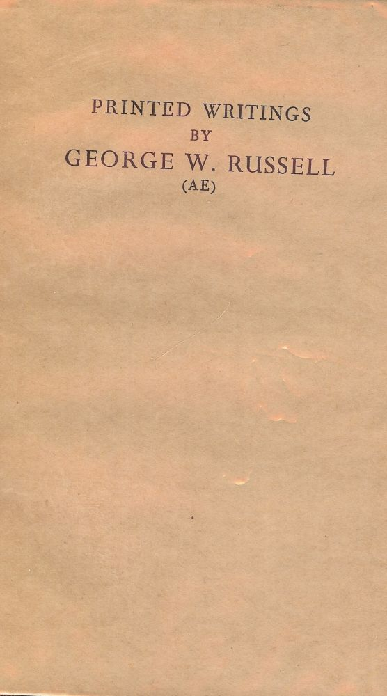 PRINTED WRITINGS BY GEORGE W. RUSSELL. Alan DENSON.