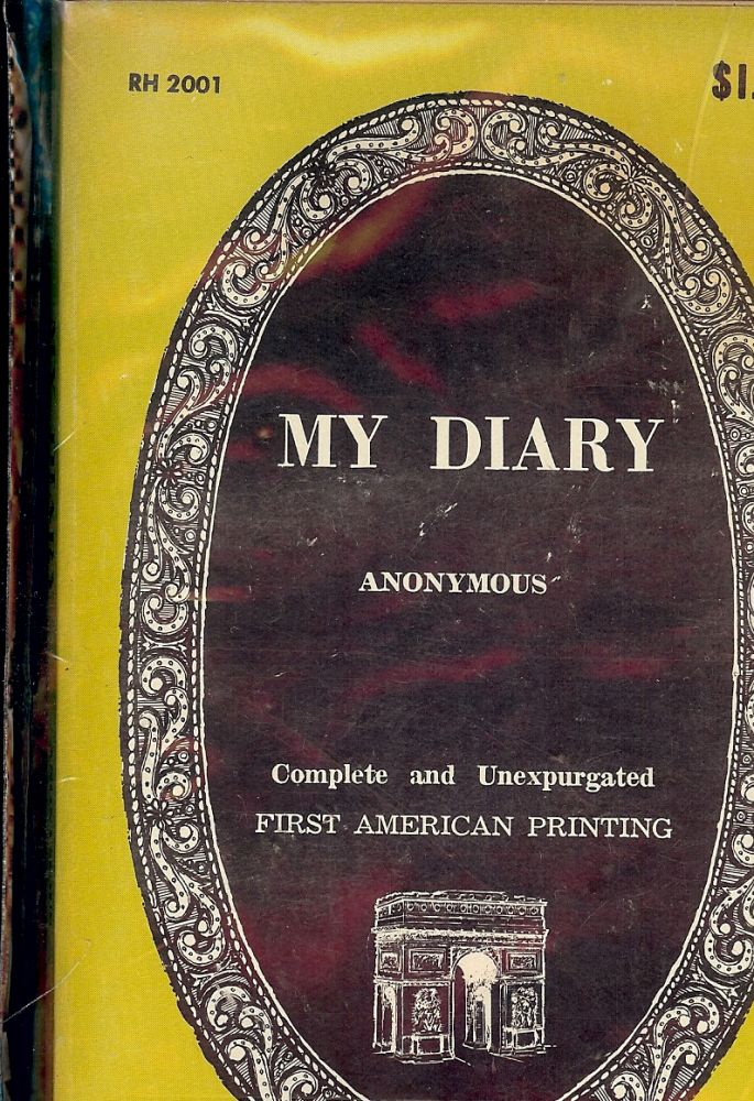 MY DIARY. ANONYMOUS.