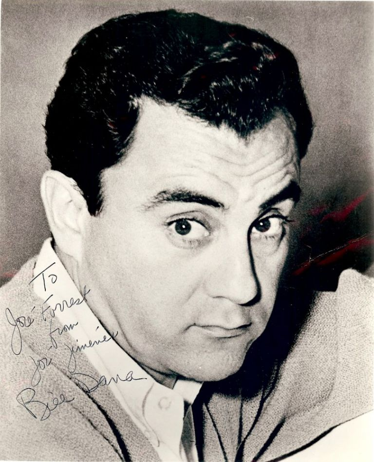 Signed Photograph. Bill DANA.
