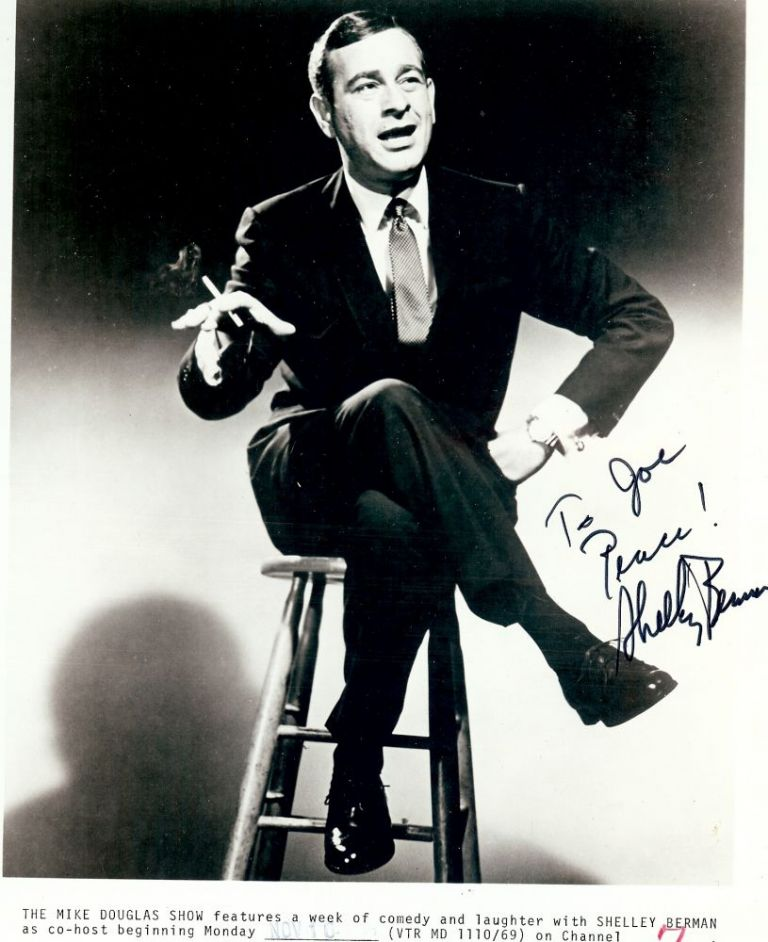 Signed Photograph. Shelley BERMAN.