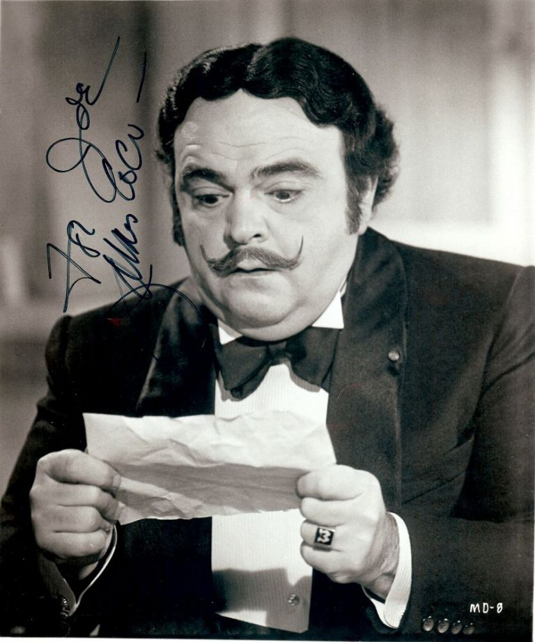 Signed Photograph. James Coco.