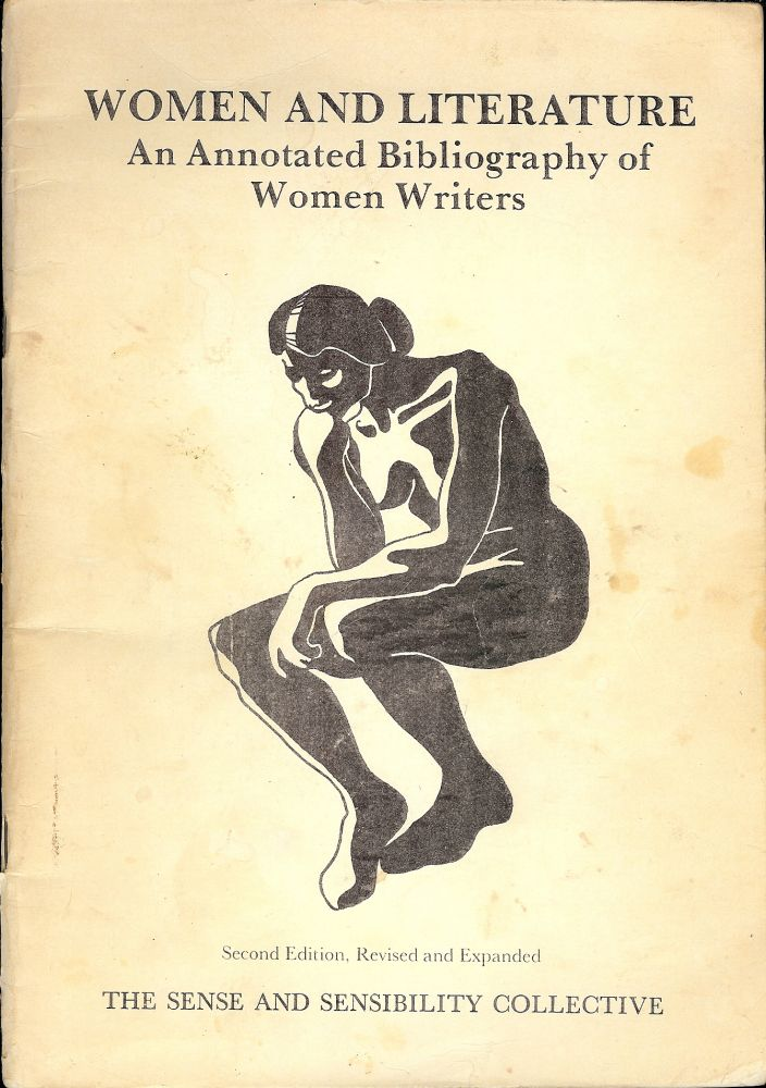 WOMEN AND LITERATURE: AN ANNOTATED BIBLIOGRAPHY OF WOMEN WRITERS. Gill GANE.