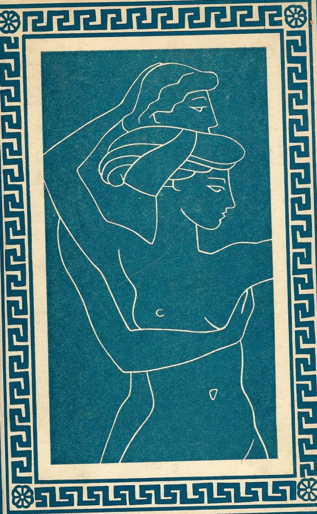 LOVE POEMS FROM THE GREEK ANTHOLOGY. Jacques LE CLERCQ.