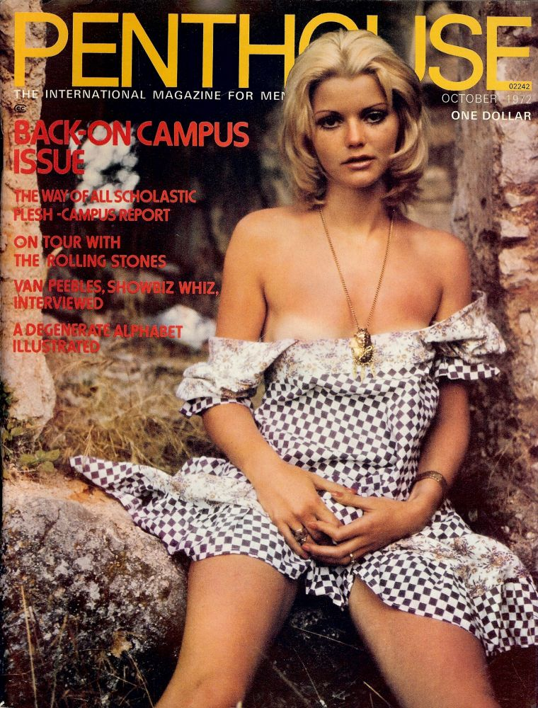 THE INNOCENCE OF FATHER BANGS. In Penthouse magazine, October 1972. Ron GOULART.