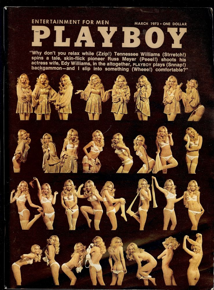 THE INVENTORY AT FONTANA BELLA. In Playboy magazine, March 1973. Tennessee WILLIAMS.