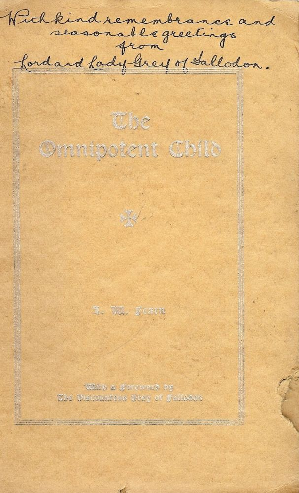 THE OMNIPOTENT CHILD. L. M. FEARN.