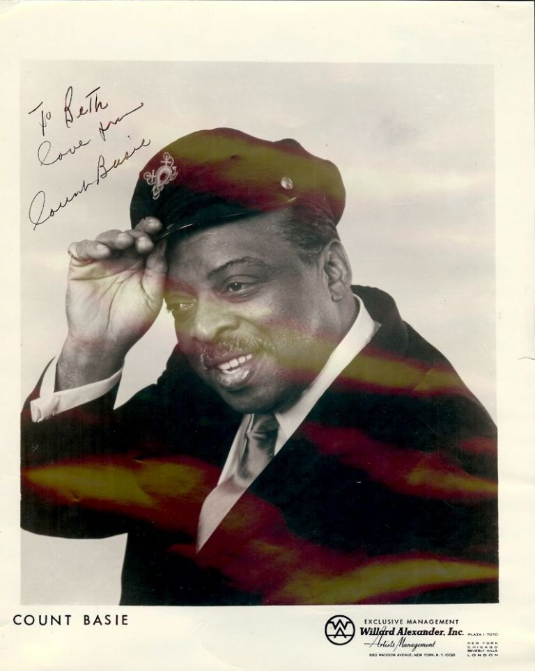 Signed Photograph. Count BASIE.