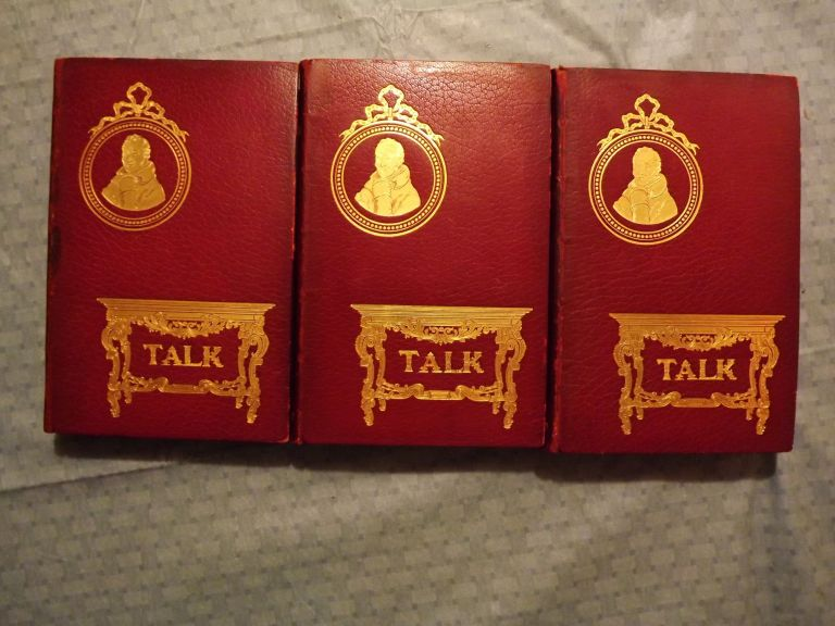 RECOLLECTIONS TABLE-TALK SAMUEL ROGERS WITH PORSONIANA: THREE VOLUMES. Samuel ROGERS.