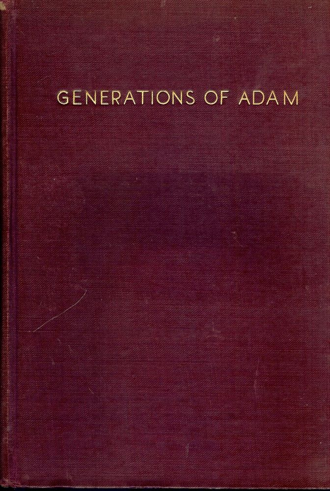 GENERATIONS OF ADAM. A. L. WOLBARST.