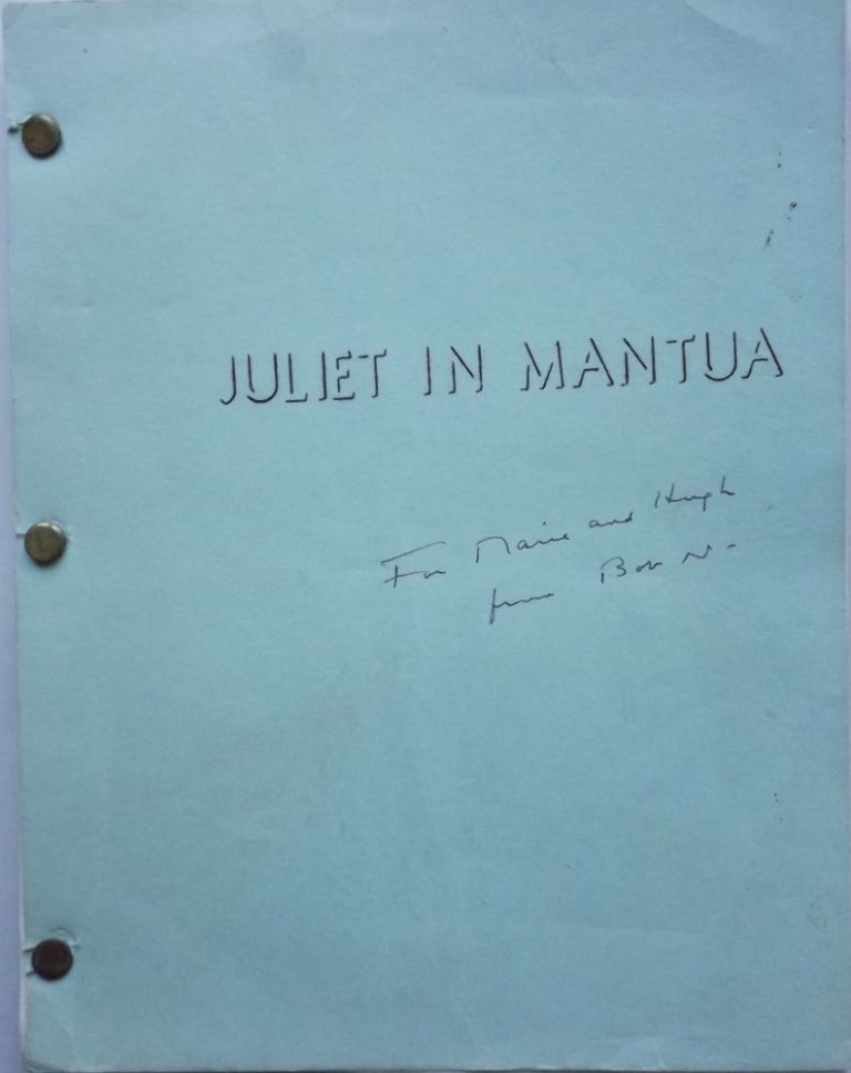JULIET IN MANTUA. Robert NATHAN.