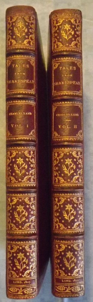 TALES FROM SHAKESPEARE: DESIGNED FOR THE USE OF YOUNG PEOPLE. TWO VOLUMES. Charles LAMB.