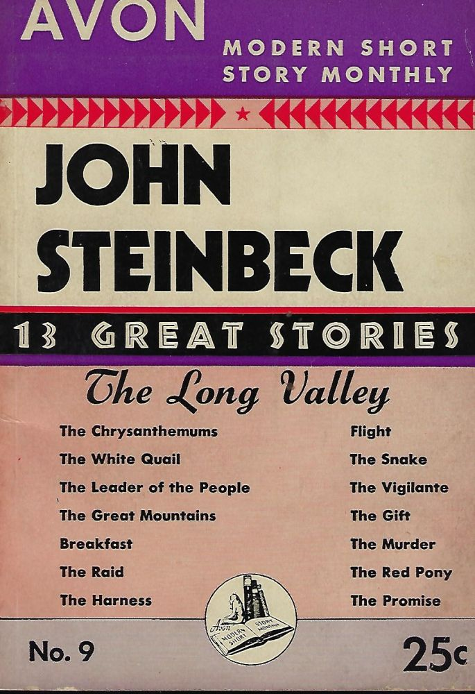 THIRTEEN GREAT STORIES FROM LONG VALLEY. In Avon Modern Short Story Monthly #9. John STEINBECK.