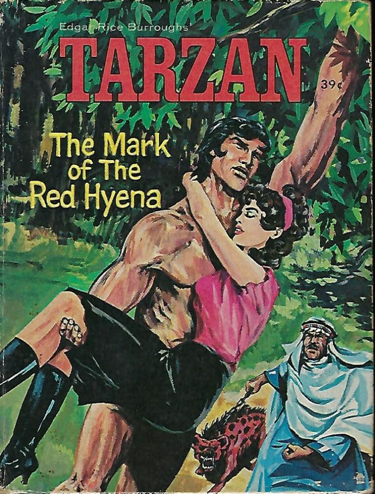 TARZAN: THE MARK OF THE RED HYENA BIG LITTLE BOOK #2006. George S. ELRICK.
