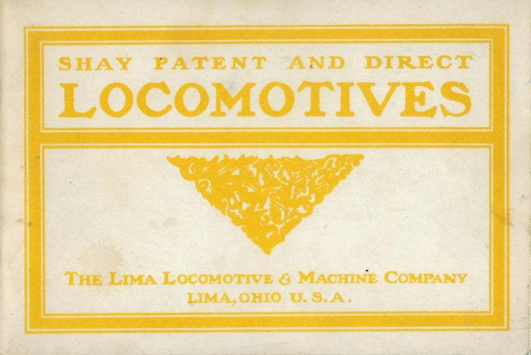 SHAY PATENT AND DIRECT LOCOMOTIVES: LOGGING CARS, CAR WHEELS, AXLES, RAILROAD AND MACHINEREY CASTINGS. CASS CIVIL WAR MUSEUM.