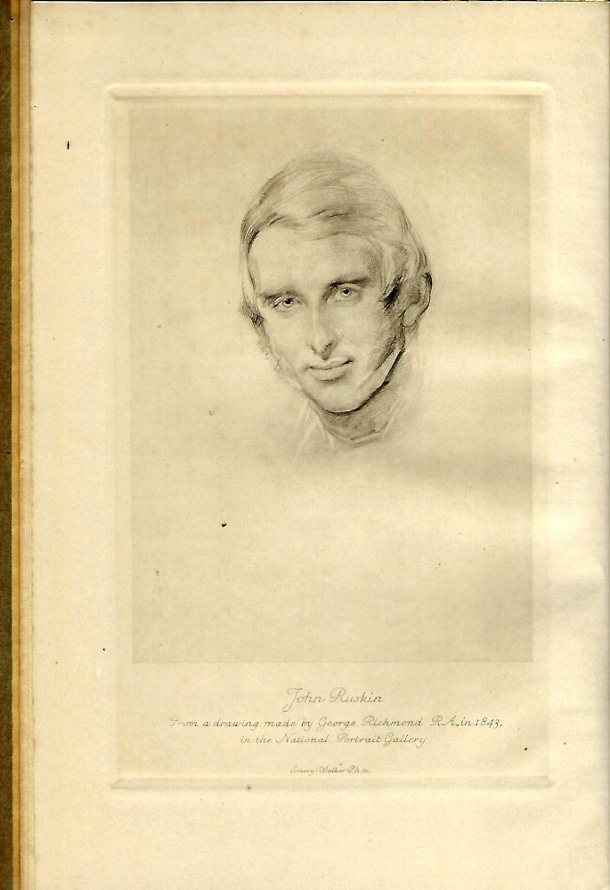 RUSKIN CENTENARY ADDRESSES 8 FEBRUARY 1919. J. Howard WHITEHOUSE.