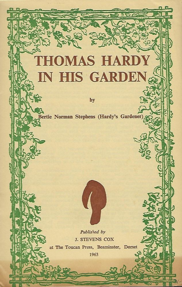THOMAS HARDY IN HIS GARDEN. Bertie Norman STEPHENS.