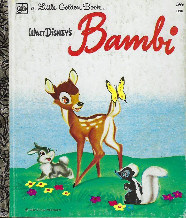 WALT DISNEY'S BAMBI. A LITTLE GOLDEN BOOK. Donald DUNAGAN.