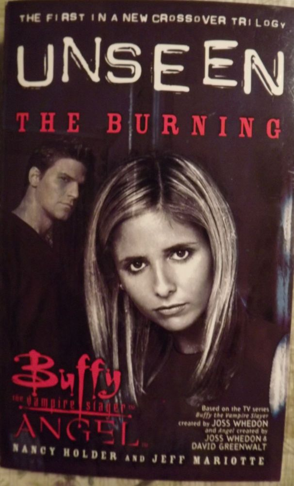 BUFFY THE VAMPIRE SLAYER. UNSEEN: THE BURNING. Nancy HOLDER, With Jeff MARIOTTE.