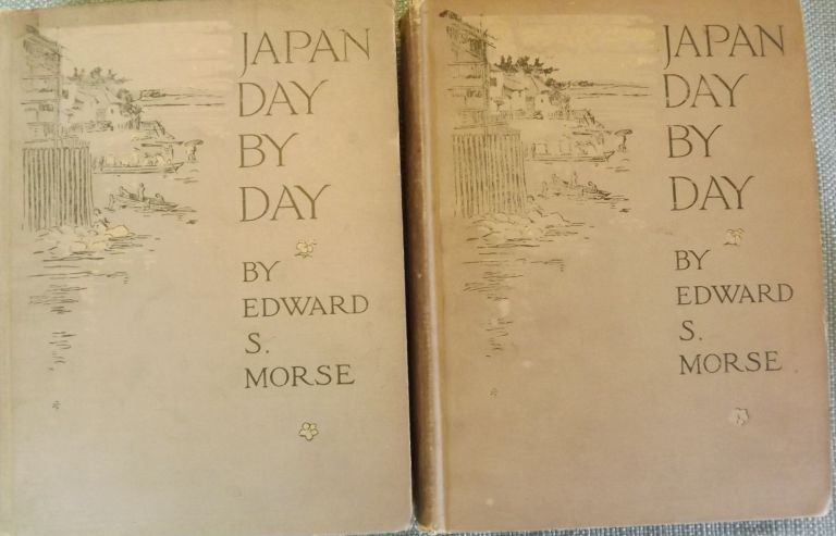 JAPAN DAY BY DAY: 1887, 1878-79, 1882-83. TWO VOLUMES. Edward S. MORSE.