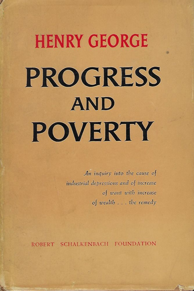 PROGRESS AND POVERTY. Henry GEORGE.
