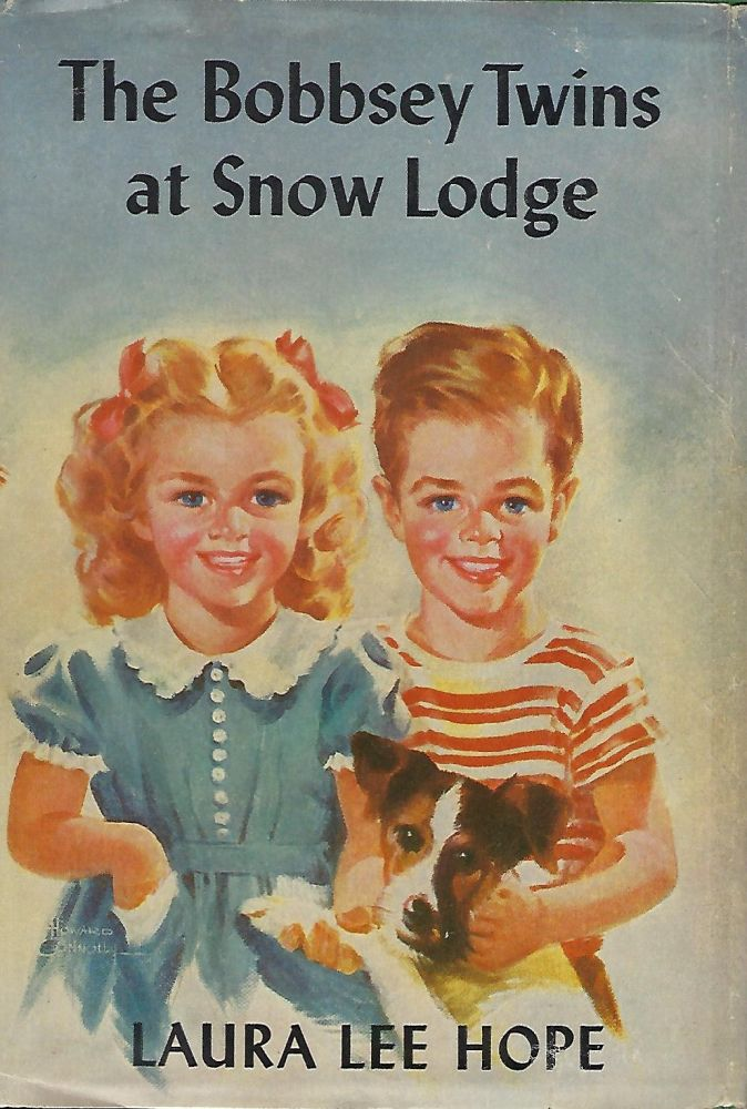 THE BOBBSEY TWINS AT SNOW LODGE. Laura Lee HOPE.