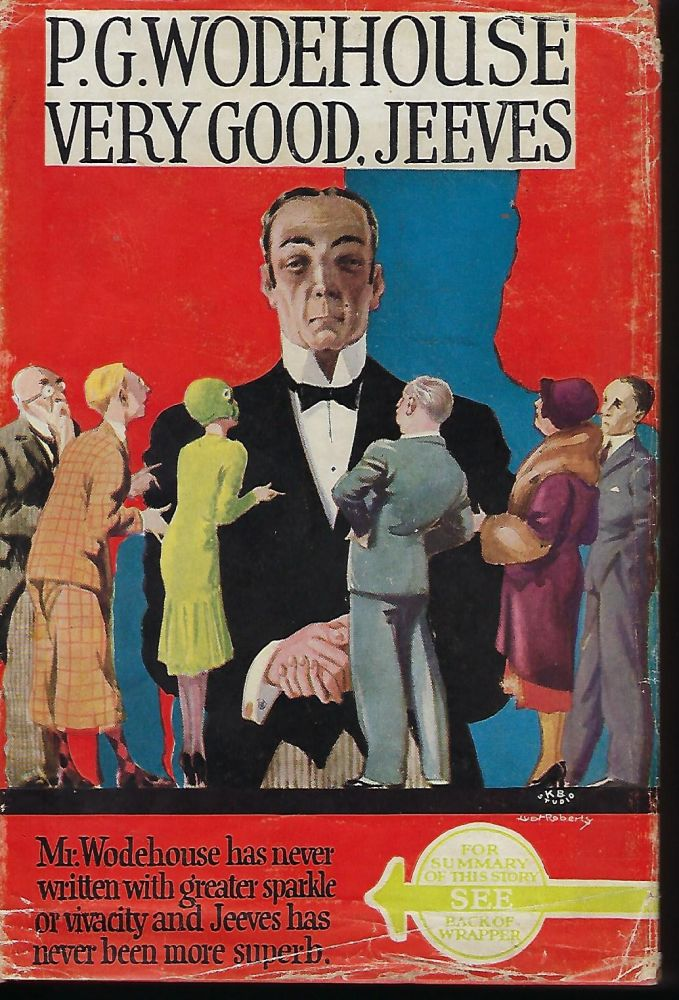 VERY GOOD, JEEVES. P. G. WODEHOUSE.