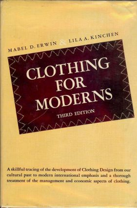 CLOTHING FOR MODERNS. Mabel D. ERWIN