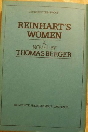 REINHART'S WOMEN. THOMAS BERGER