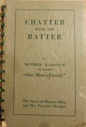 CHATTER WITH THE BATTER. Minetta ELLEN