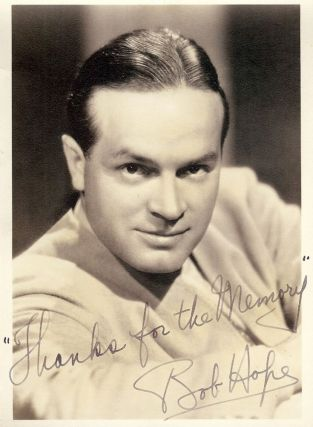 SIGNED PHOTOGRAPH. Bob HOPE
