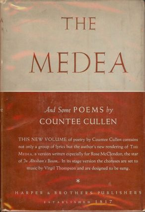THE MEDEA AND SOME POEMS. Countee CULLEN