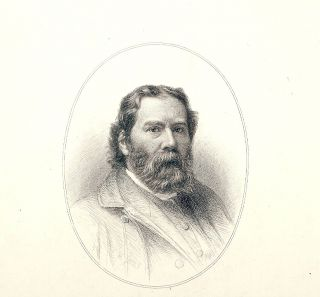 Steel-Engraved Portrait. JAMES RUSSELL LOWELL