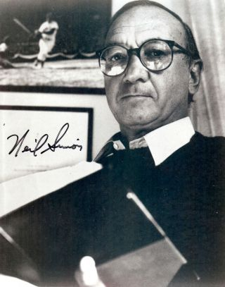 Signed Photograph. Neil SIMON