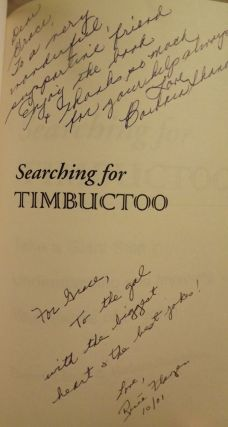 SEARCHING FOR TIMBUCTOO: TAKE A GIANT STEP IN UNDERSTANDING YOUR
