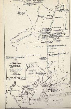 LUTHERANISM IN COLONIAL NEW YORK