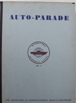 INTERNATIONAL AUTOMOBILE PARADE VOLUME 2