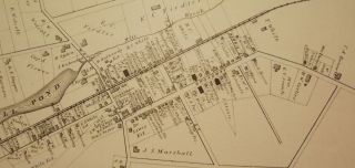 EATONTOWN MAP, 1878