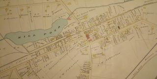 EATONTOWN MAP: 1889