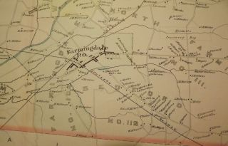 HOWELL TOWNSHIP: 1889 MAP