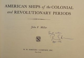 AMERICAN SHIPS OF THE COLONIAL AND REVOLUTIONARY PERIODS