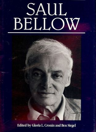 CONVERSATIONS WITH SAUL BELLOW. Gloria L. CRONIN
